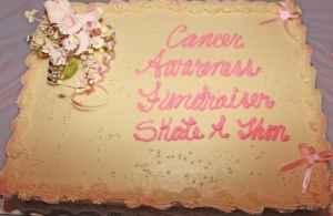 Cancer Awareness Fundraiser Cake