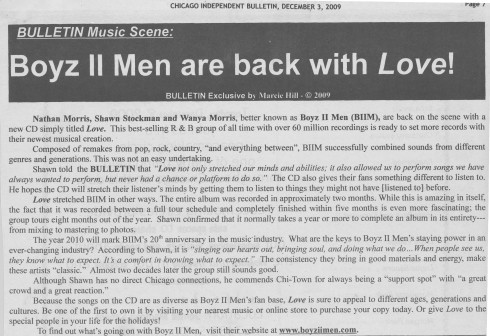 Boyz II Men Are Back With Love