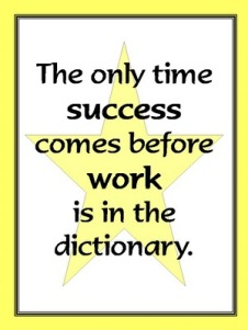 Success-Work quote