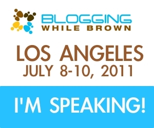 I'm Speaking at Blogging While Brown