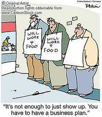 Business Plan Cartoon