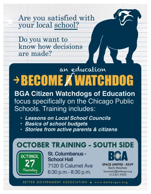 Education Training - Better Government Association